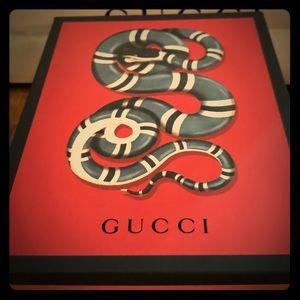 gucci bags rare gift box snake design limited seasonal poshmark